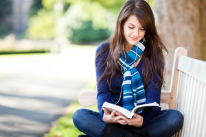 acting-like-introvert-Girl-Reading-Book