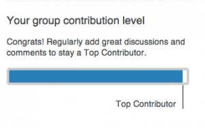 LinkedIn Top Contributor